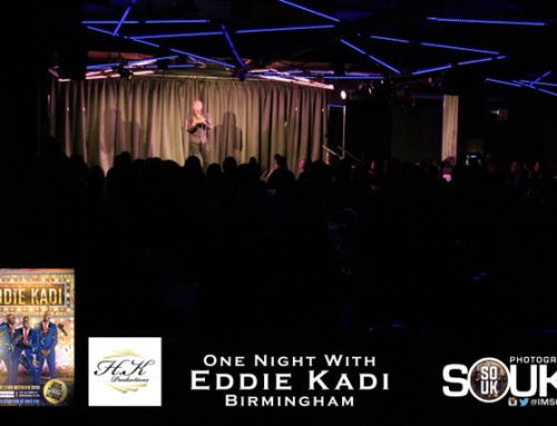 EDDIE BRINGS LAUGHTER TO BIRMINGHAM